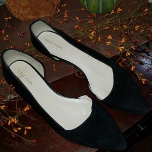 Cole Haan Women's Flat Black Size 8 1/2